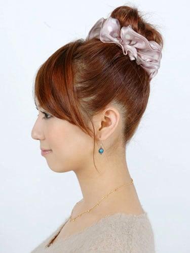 【おだんご】簡単でキレイなおだんごヘア